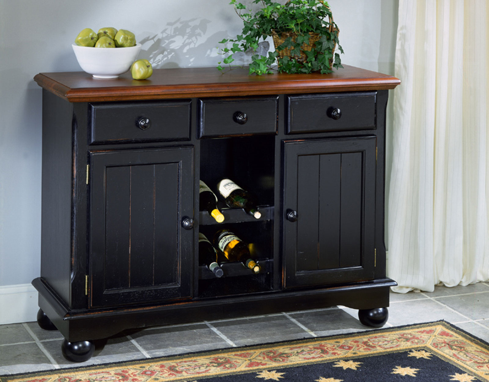 British Isles Oak Black Fine Wood Furniture A America