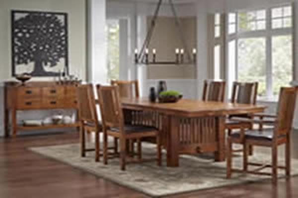 A america dining rooms for Laurelhurst dining set